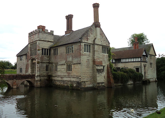 Baddesley Clinton from outside the moat