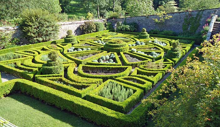 Overview of the main box parterre