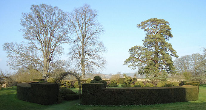 The famous Topiary Ring