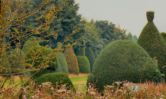 Topiary isn't always one colour green