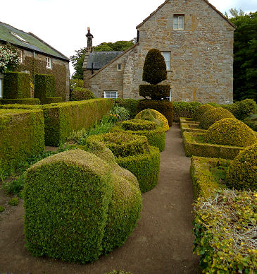 View of Formal Garden from other direction