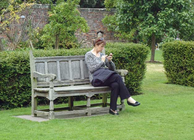 Modern bench from the Seventeenth Century with new technology