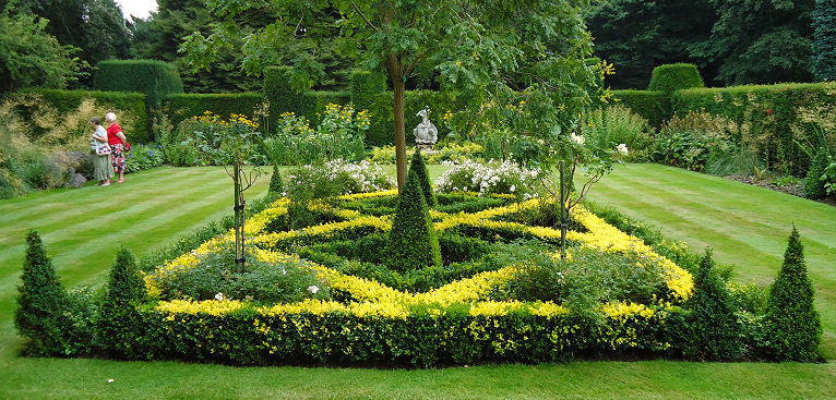 Double coloured parterre