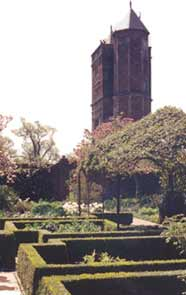 The tower and parterre